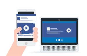 Visionnage de vidéos sur Facebook ; toutes les entrées et sorties